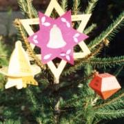 Karácsonyi csillag - karácsonyfadísz