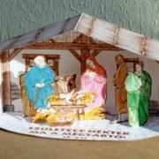 Betlehemi istálló - térmakett