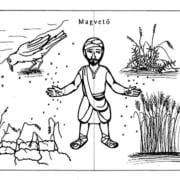 Hét példázat Isten országáról - mozgatós makettsorozat