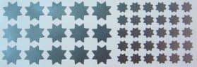 matricák csillagok