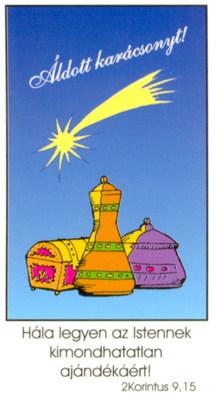 Ajándék kísérő kártya 8.