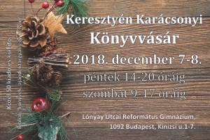 2018 karácsonyi könyvvásár lónyay
