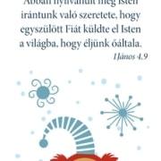 Karácsonyi könyvjelző csomag - Velünk az Isten!