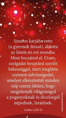 Karácsonyi könyvjelző csomag - Jézus a világ világossága