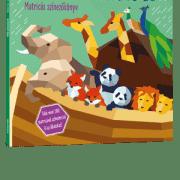 Nóé bárkája - Matricás színezőkönyv